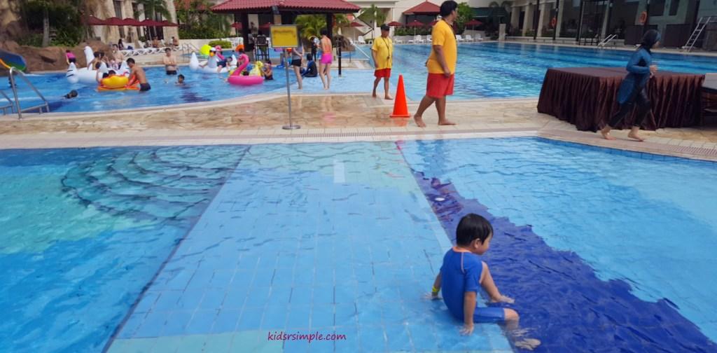 Shallow walkway (Safra Yishun Pool)
