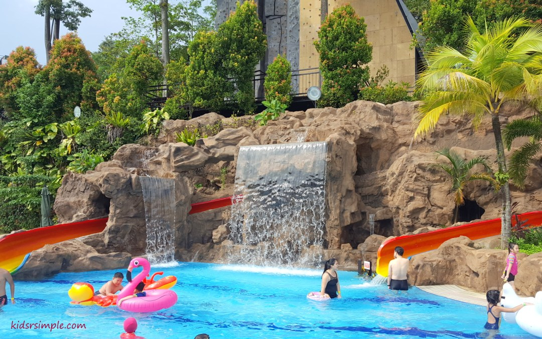 Safra Yishun Pool Reopens with Kids Play Pool and Slides!