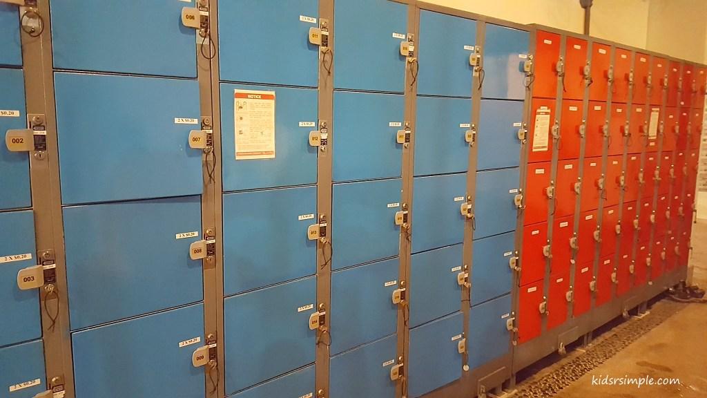 Lockers (Safra Yishun Pool)