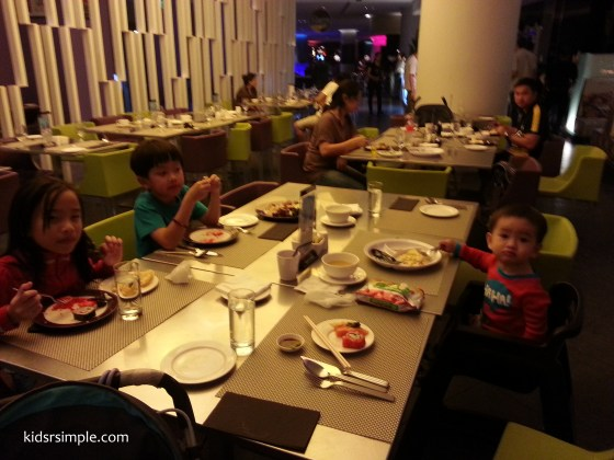 Hard Rock Hotel Dinner