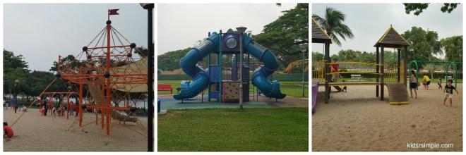 3 playgrounds