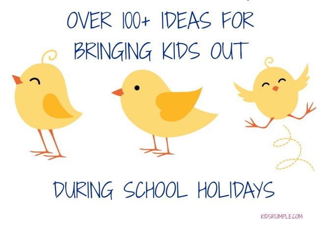 List of Ideas of Bringing Kids Out