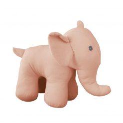 Knuffel olifant roze duurzaam