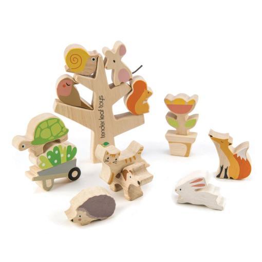 Stapelboom speelgoed hout duurzaam