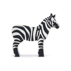 houten zebra speelgoed
