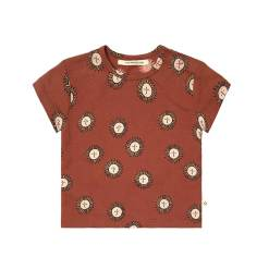 roestbruin t-shirt zon