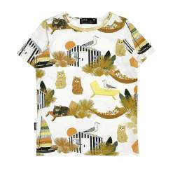 t-shirt zomer met poes