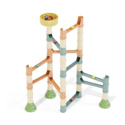 knikkerbaan duurzaam speelgoed