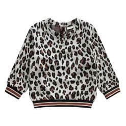 trui meisjes luipaardprint