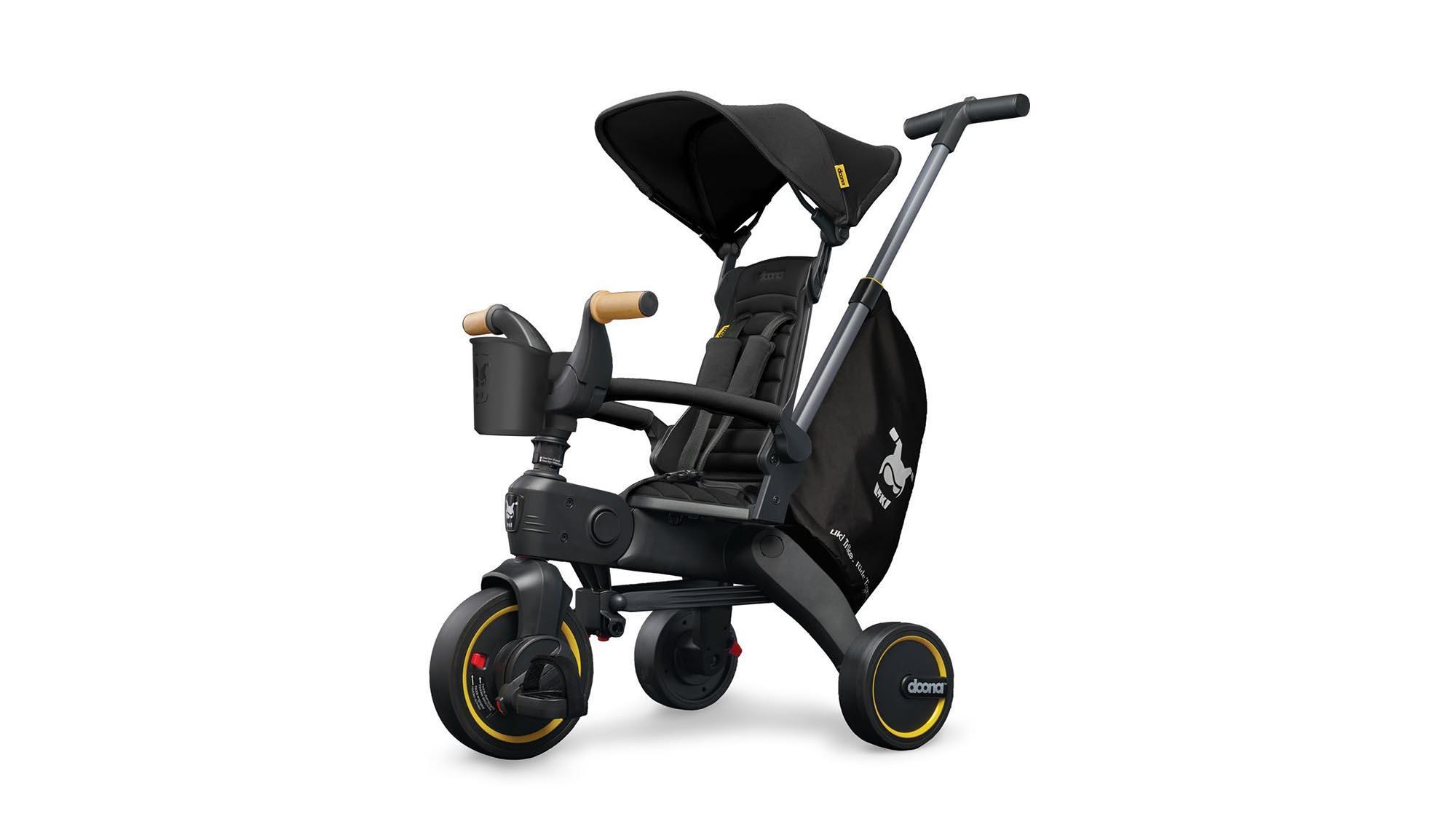 Liki Trike S5 Nitro Black   The Kidstore