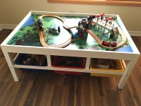 Why You Should Buy a Train Table for Your Kids!