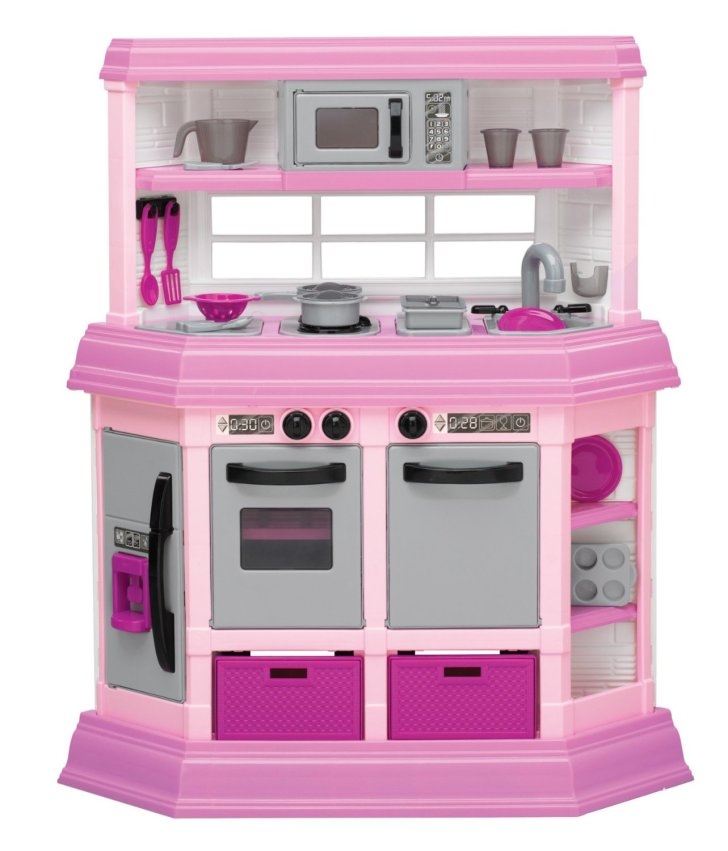 American Plastic Toy Deluxe Custom Kitchen Has Enough Make Your