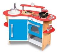 Melissa & Doug Cook's Corner Wooden Kitchen Review