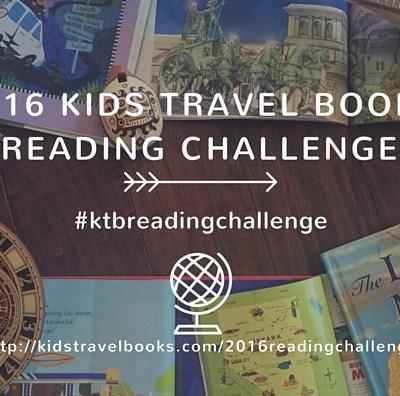 Kids Travel Books 2016 Reading Challenge