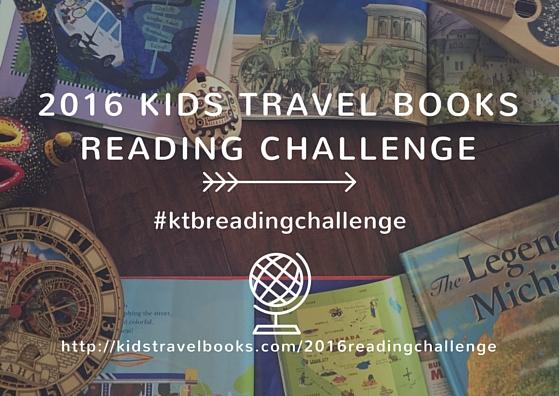 Kids Travel Books 2016 Reading Challenge #ktbreadingchallenge