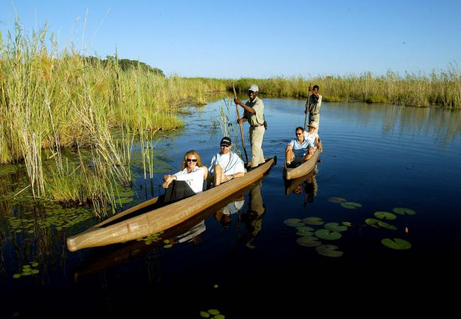 A Mokoro Ride - Photo Credit: Botswana Tourism
