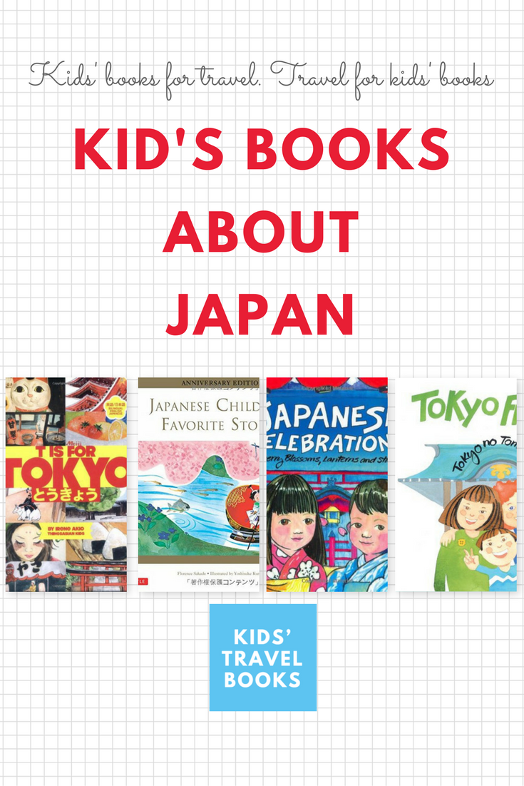 let's learn about japan with kid's books