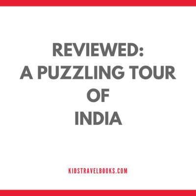 Learning about India: A Puzzling Tour of India | Book Review