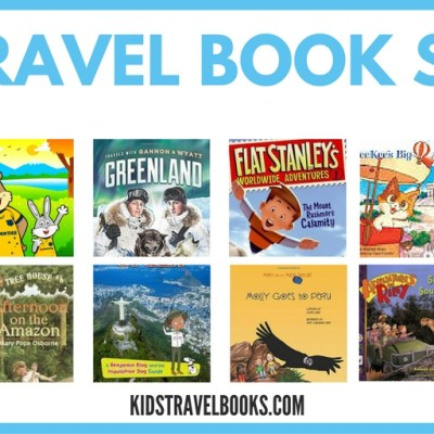 8 Travel Book Series for Kids