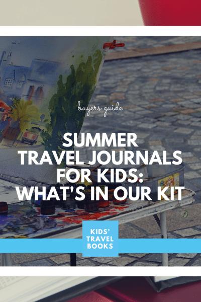 Summer Travel Journal Kits for kids
