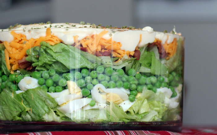 layered salad recipe
