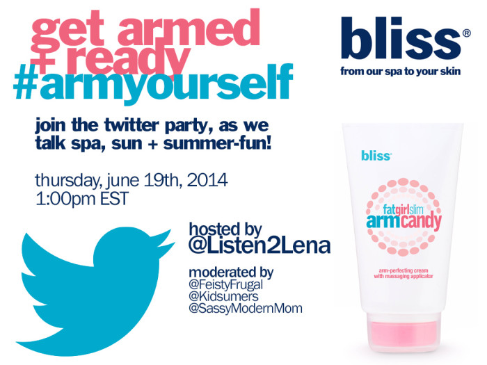 bliss Twitter Party Invite