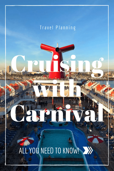 cruising with carnival all you need to know kidsumers