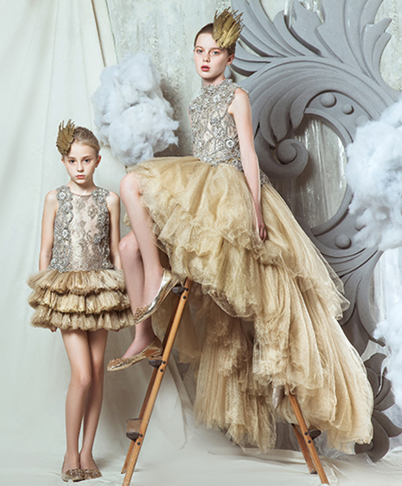 Kids Couture : couture, Kid's, Mischka, 2015/16