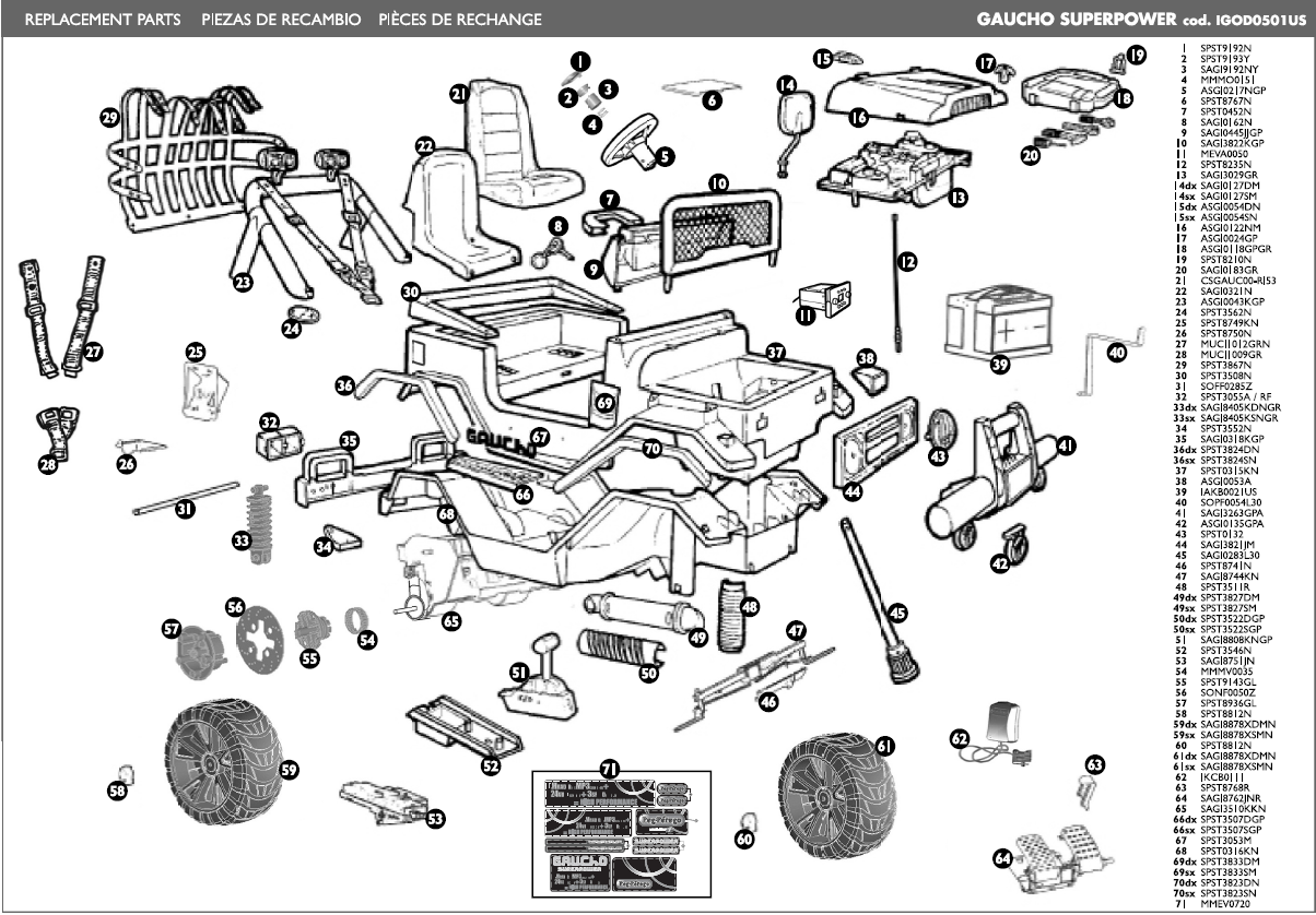 power wheels 12v wiring diagram stihl ms 270 parts gaucho super igod0501us kidswheels