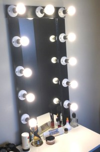Hollywood/Broadway Vanity Mirror with Lights  Kids With Curls