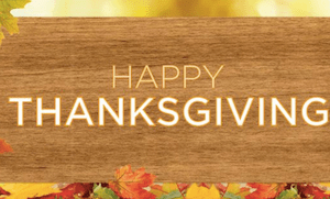 40 % Happy Thanksgiving – 40% Discount on Yoga for all ages 0-99! LIMITED TIME OFFER!
