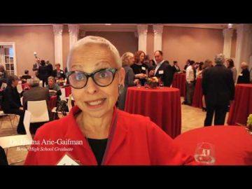 Dr. Hanna Arie Gaifman, Graduate of Mae Boyar High School in Jerusalem, reflects on the importance of her high school education.