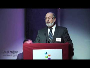 David Mallach on the special role of the Society for Advancement of Education in Israel