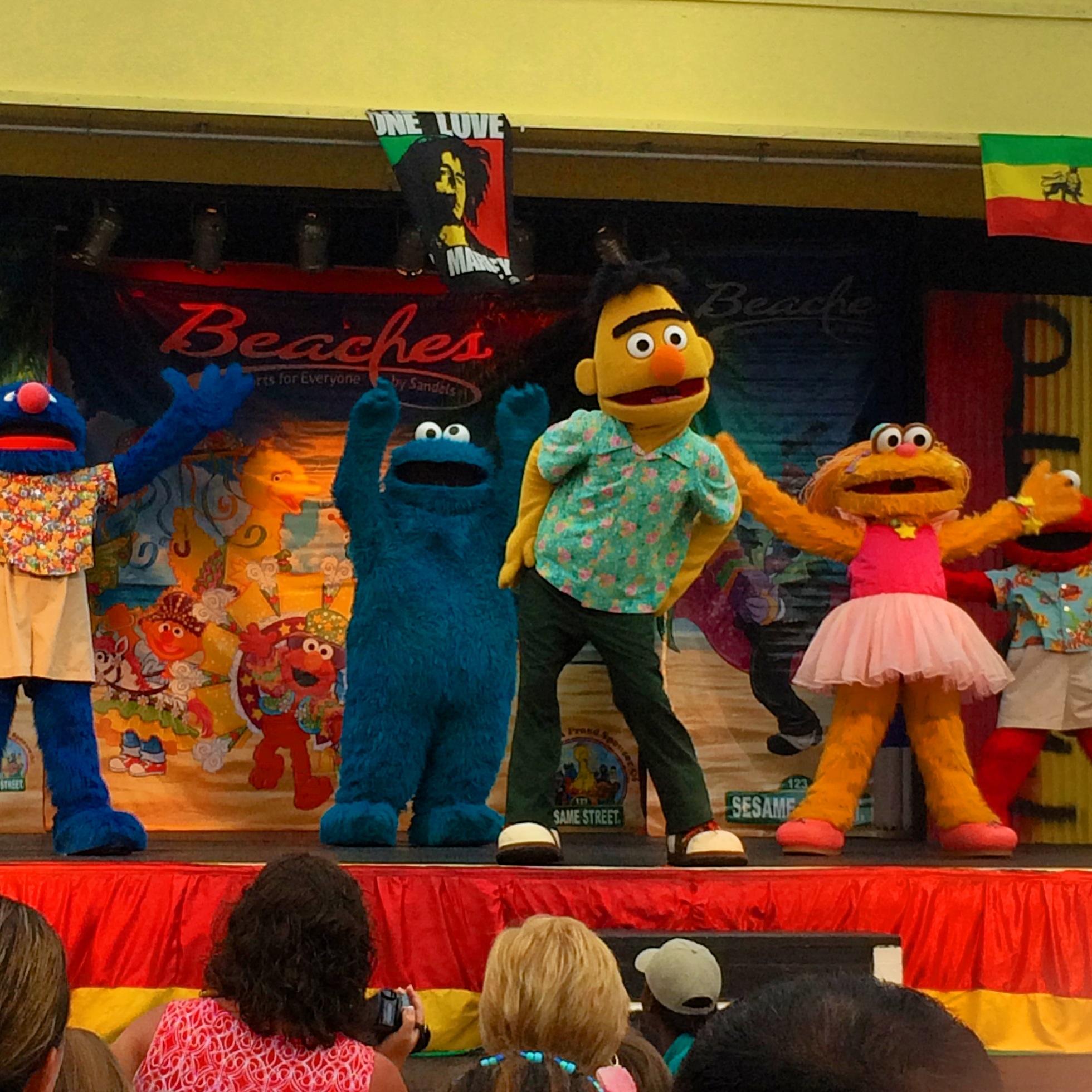 Sesame Street Rules at Beaches Turks  Caicos  Kidventurous