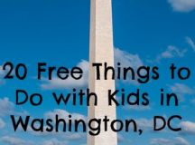 20 Free Things to Do with Kids in Washington, DC ...