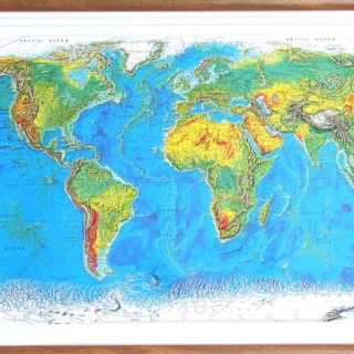 """Use a """"Bumpy"""" Map to Teach Geography to Kids"""
