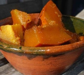 Mexican Sweet Pumpkin Dessert