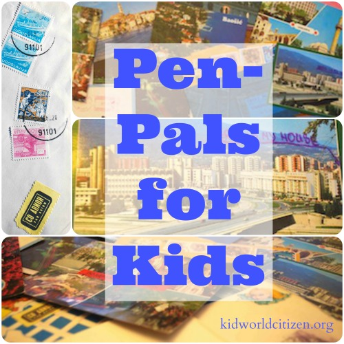 Pen Pals for Kids- Kid World Citizen
