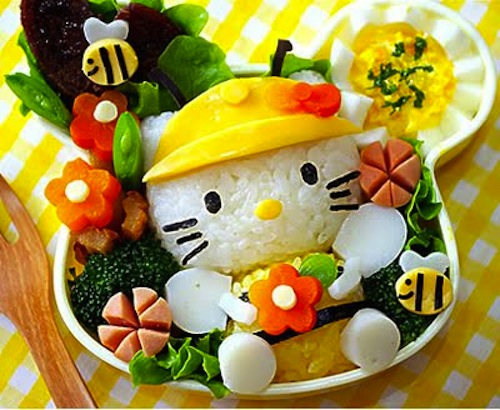 Hello Kitty Bento Kid World Citizen