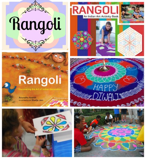 Rangoli Pin- Kid World Citizen