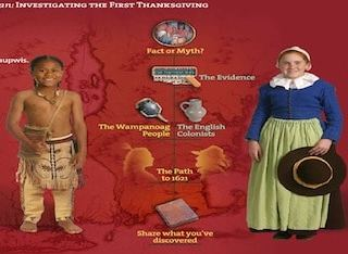 On-line Thanksgiving Activity- Kid World Citizen