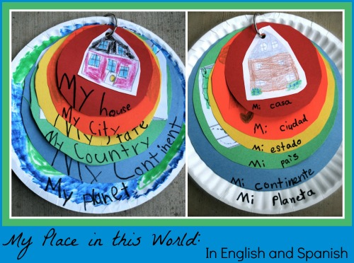Kids Geography My Place in this World- Kid World Citizen