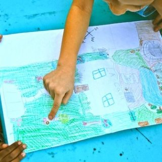 Map Your Backyard- Kid World Citizen