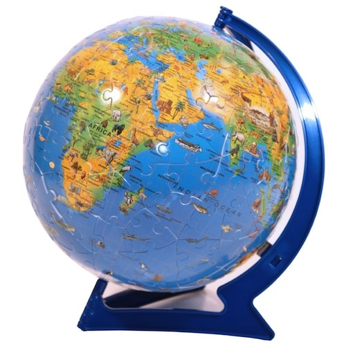 Globe Puzzle- Kid World Citizen