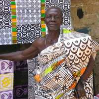 Adinkra Fabric Printing from Ghana