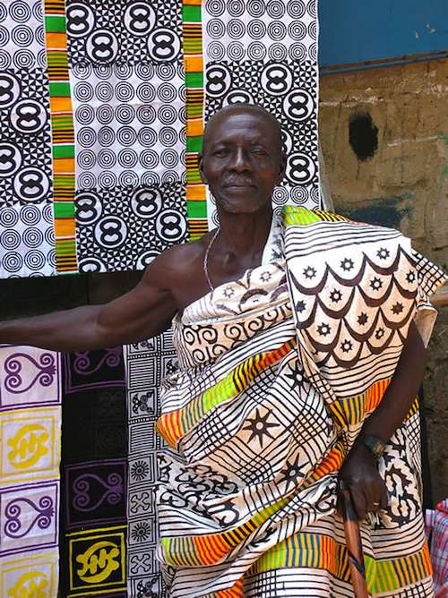 Elder in Adinkra- Kid World Citizen