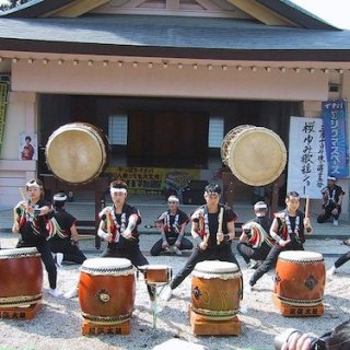 Rhythmic Taiko Drumming from Japan