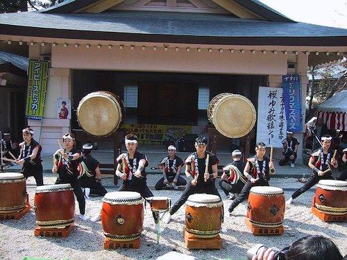 Taiko Drummers Aichi Japan- Kid World Citizen
