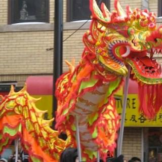 Dragon Parade at Chinese New Year- Kid World Citizen