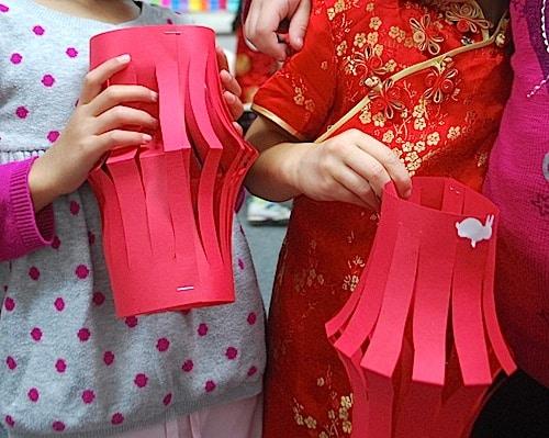 Chinese New Year Lantern Art Project- Kid World Citizen